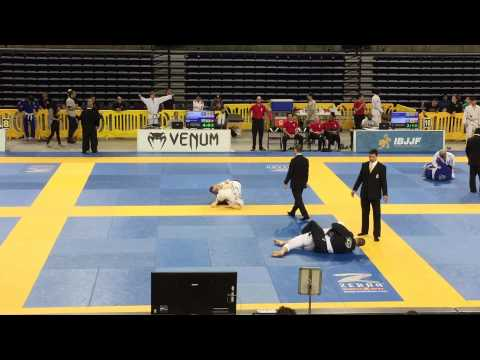 2015 IBJJF Pan Ams - Adult White Belt Middle Weight First Match