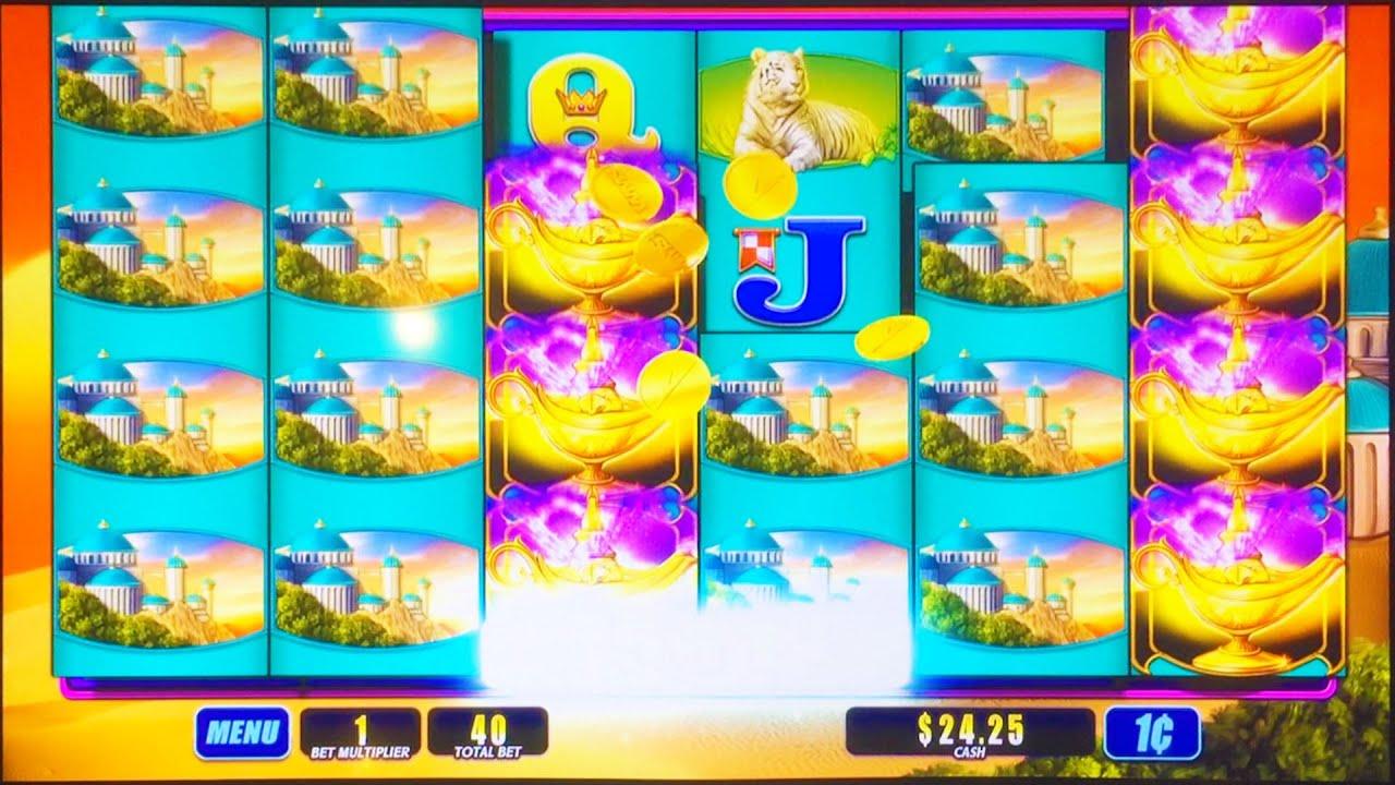++NEW Magic Lamp Slot Machine, Live Play, Big Win   YouTube