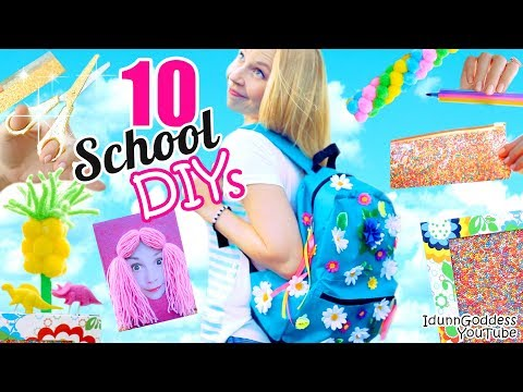 10 Back-To-School DIY Projects - Awesome DIY School Supplies