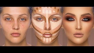 Fall Inspired Makeup 2018 Contour and Highlight by Samer Khouzami