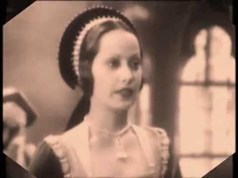 The Execution of Anne Boleyn. Merle Oberon