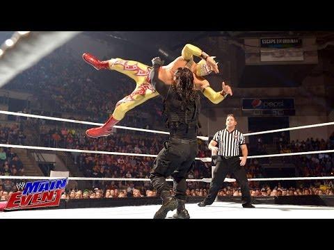 Sin Cara & Los Matadores vs. The Shield: WWE Main Event, Feb. 19, 2014 thumbnail