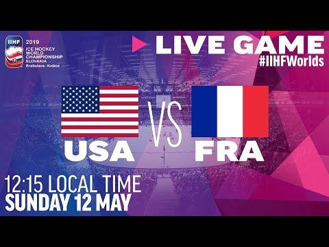 USA vs. France | Full Game | 2019 IIHF Ice Hockey World Championship