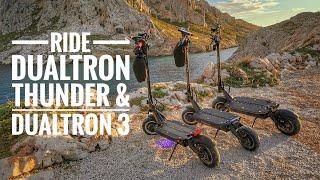 Ride Dualtron Thunder, DT3 à Marseille Ft Kramtoo