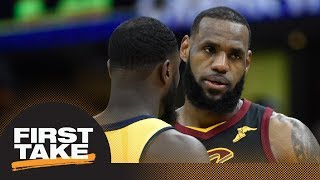 Stephen A. and Max debate if Cavs vs. Pacers Game 2 is must-win for LeBron James | First Take | ESPN