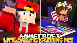 Minecraft Adventure - LITTLE ALLY IS IGNORING ME!!!