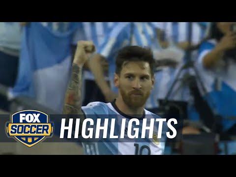 Argentina vs. Venezuela | 2016 Copa America Highlights