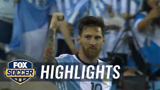 Argentina vs. Venezuela   2016 Copa America Highlights