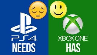 TOP 3 Things that the PS4 NEEDS that the XBOX ONE HAS!