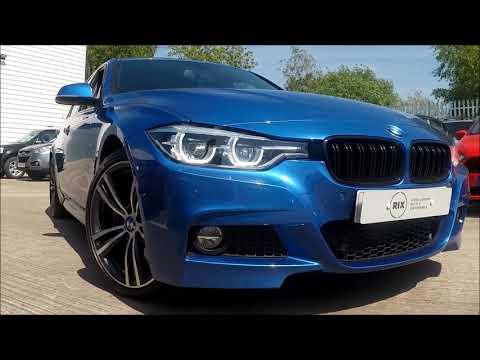 BMW 3 Series 3.0 330D M Sport Plus Finished In Estoril Blue At Rix Motor Company