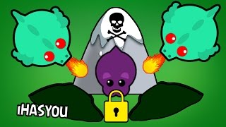MOPE.IO WORST TRAPPED POSITION !! // ULTIMATE FAN REVENGE ! - iHASYOU