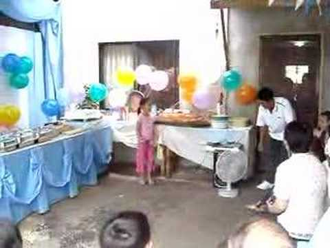Colong S Christening Program Youtube