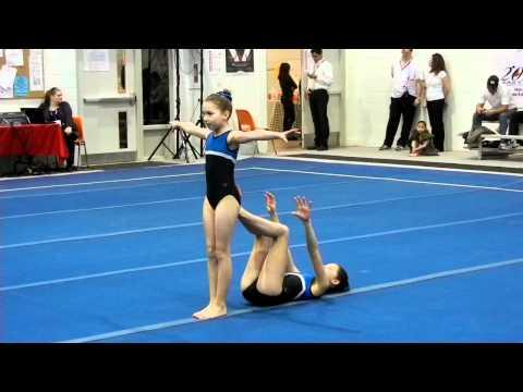 2nd ONTARIO Cup Acrobatic Gymnastics Oakville Natalie Kiana Lev 5 Women