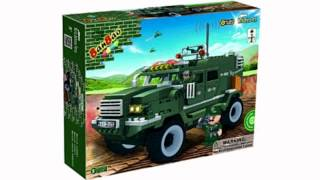 Ban Bao Military Vehicle Toy Building Set, 290-piece