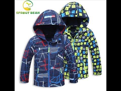 Куртка для мальчика (AliExpress)