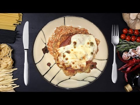 HOW TO COOK EASY CHICKEN PARMESAN WITH SPAGHETTI – ALY EATS