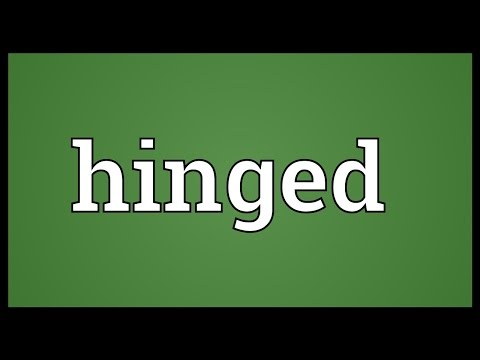 Hinged Meaning