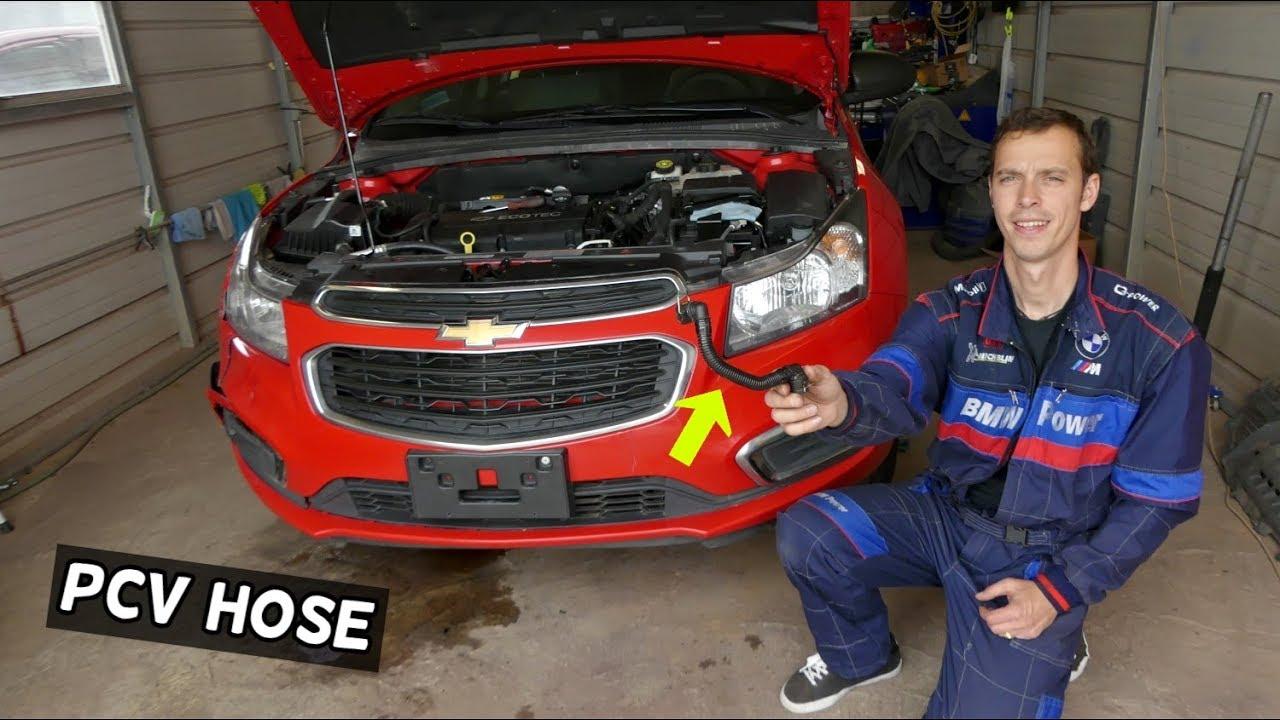 Pcv Hose Replacement Chevrolet Cruze Chevy Sonic Vacuum Leak Fix