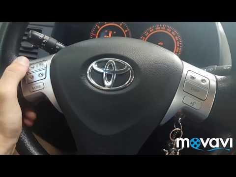 Кнопки руля Toyota Corolla E150