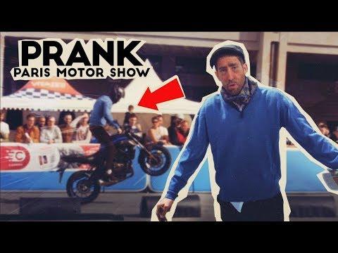 PRANK : PAPY RIDER PIÈGE LE PARIS MOTOR SHOW !