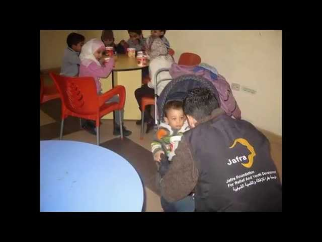 turn the children tears into laughter Jafra CFs Yarmouk