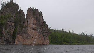 Рыбалка летом Открытие сезона Сплав по реке Бирюса от Усть Яги до Кедрового