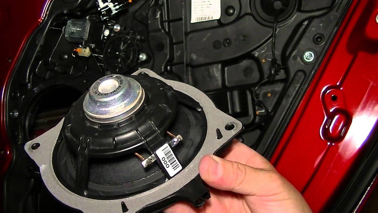 Hyundai Sonata 2011 And Newer Door Speaker Replacement