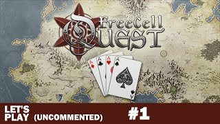 FreeCell Quest Gameplay #1