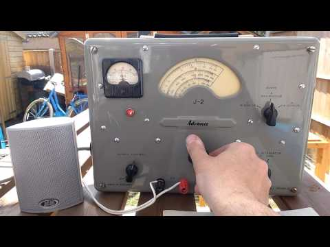 Advance J-2 Audio Frequency Generator