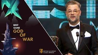 God of War Wins Best Game   BAFTA Games Awards 2019
