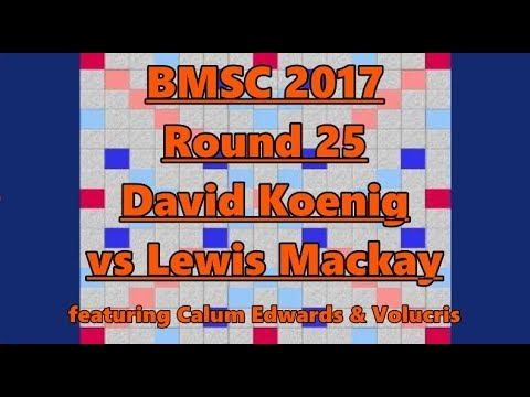 Main Event Round 25 Koenig vs Mackay (+post mortem) ft Calum Edwards and Volucris
