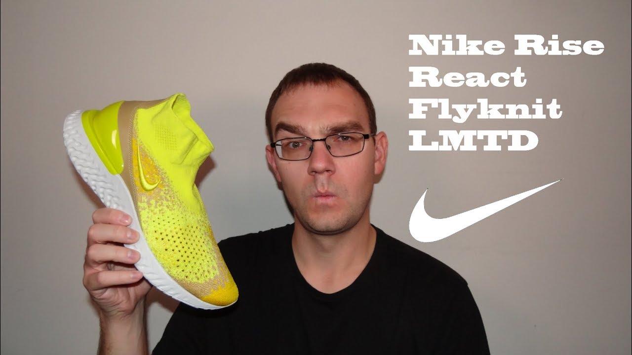 Nike Rise React LMTD - YouTube
