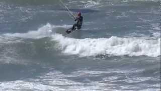 Kitesurfing in Playa de Palma, Mallorca