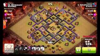 Clash of clans TOP 10 CW ATTACKS OF THE WEEK!
