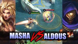 MASHA VS ALDOUS 500 STACKS - HP BARS VERSUS STACKS