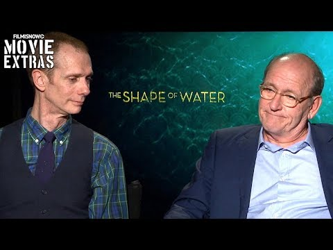 The Shape of Water (2017) Doug Jones And Richard Jenkins talk about the movie