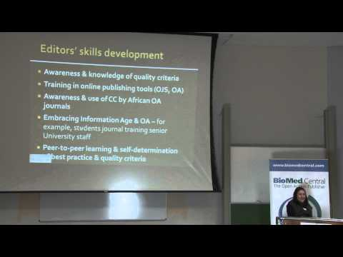 Building Expertise in Journal Publishing: Susan Murray