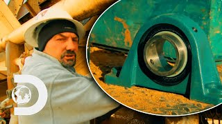 Wash Plant Disaster Sets Dave Back On Journey To 100 oz | Gold Rush: Dave Turin's Lost Mines