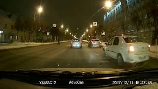 ДТП Йошкар-Ола Ленинский проспект возле 14 школы декабрь 2017г.