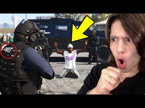 Jogando GTA 5 Como um POLICIAL DE FORÇAS ESPECIAIS!!