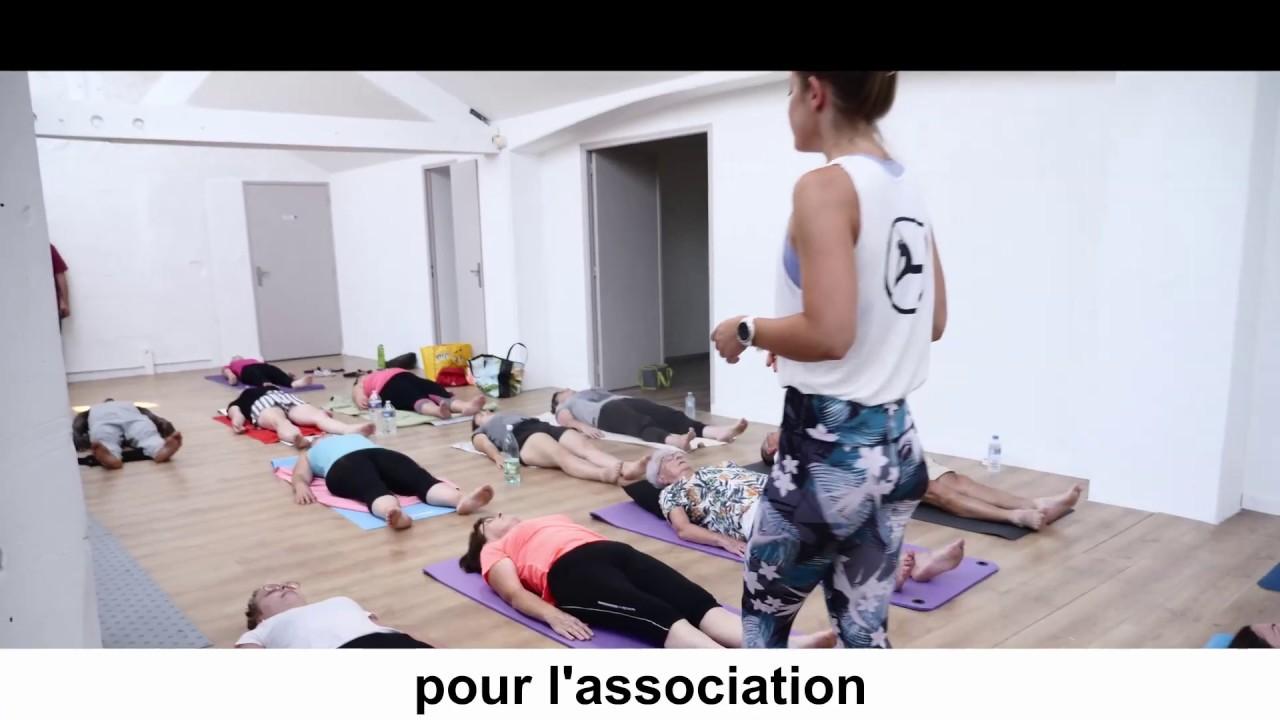 cours de Yoga sur donation pour PSE