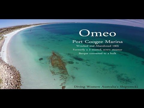 Omeo shipwreck. Coogee, Western Australia