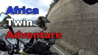 New curvy roads, speed and sound on my Honda Africa Twin DCT! [First Part]