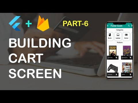 Flutter Ecommerce App Part 6 (Building Cart Screen)