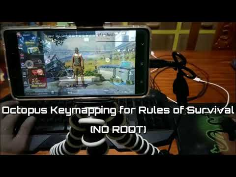 Use Keyboard & Mouse for Rules of Survival (NO ROOT)