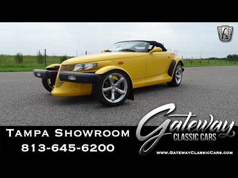 2002 Chrysler Prowler- Gateway Classic Cars- Tampa Showroom #1566