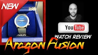 Aragon Watch Review: Aragon Fusion Coupon Code - Black Dial, Blue Dial, Grey Strap Android Watches