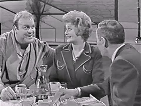 Bonanza DAN BLOCKER & Cara Williams All American couple  sketch comedy