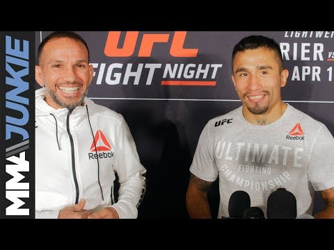 UFC on FOX 29: Alejandro Perez full post-fight interview