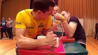 Чемпионат Беларуси по армрестлингу 2015 80 кг левая рука